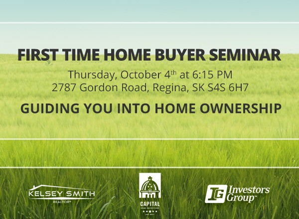 Regina First Time Home Buyers Seminar