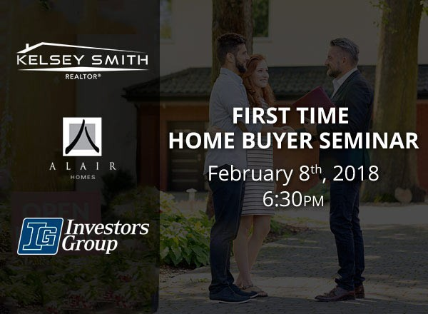 Attend Our First Time Home Buyer Seminar!