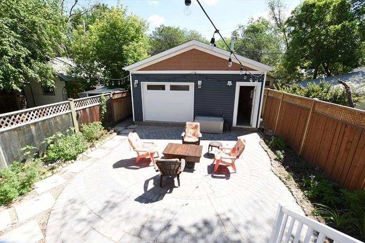 Back Yard Area 2169 McTavish Street Regina Saskatchewan