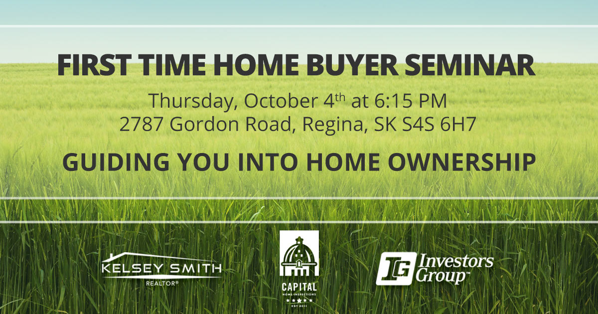 October 4, 2018, Regina Home Buyer Seminar